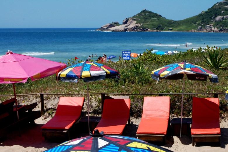 Bar tropical, Praia Mole, Florianópolis
