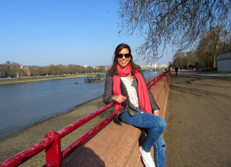 Battersea Park, rio thames