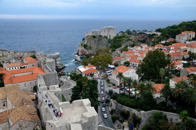muralhas - cidade murada - dubrovnik - croácia - pontos - turísticos