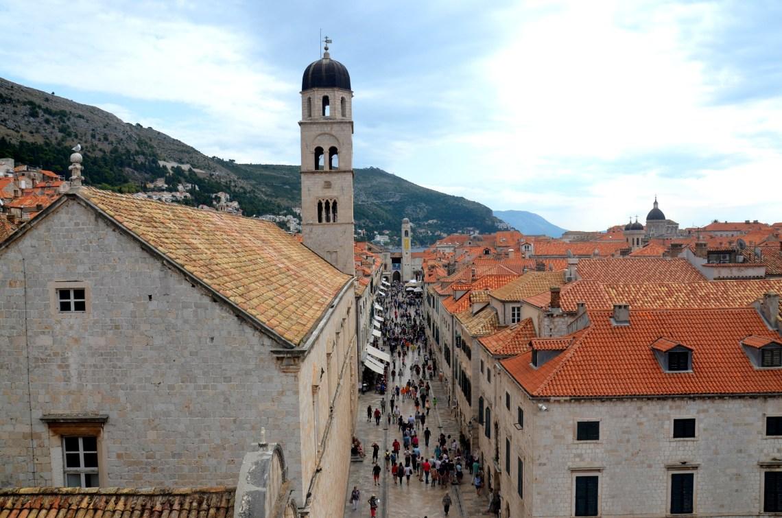 centro histórico - dubrovnik - croácia - pontos - turísticos