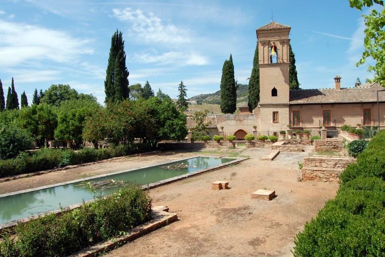 jardines del paraiso - Alhambra - granada - espanha - andaluzia