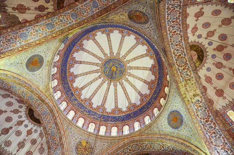 Mesquita Azul- Hagia Sofia - Istambul - Turquia