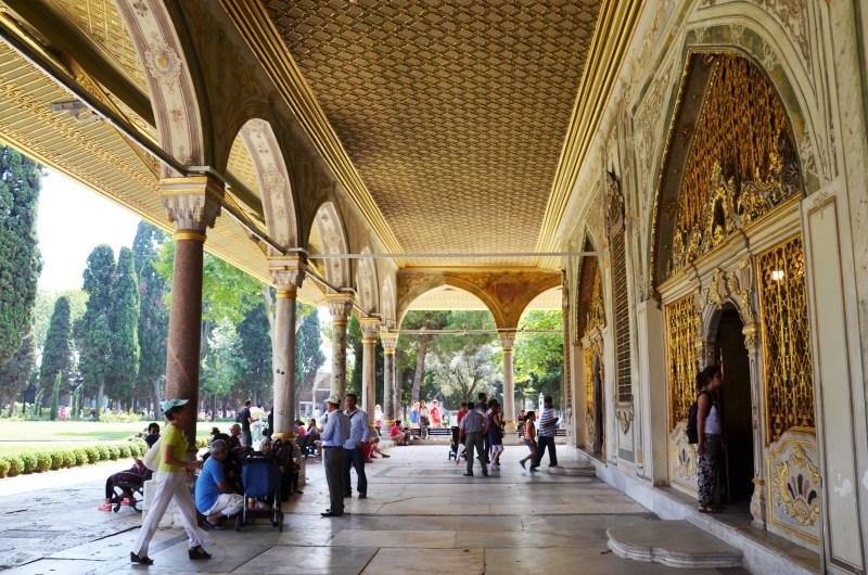 Palácio Topkapi - istambul - turquia