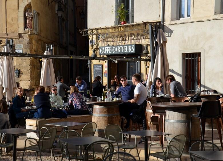 Place des Cardeurs - aix en provence - frança - provença