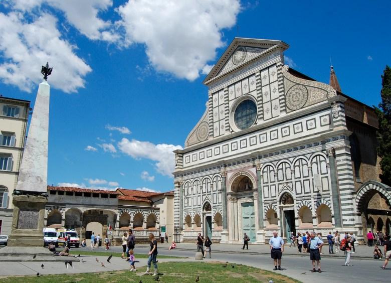 Basílica Santa Maria Novella - florença - italia