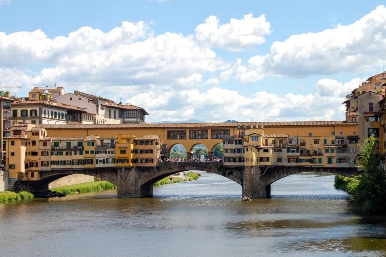 ponte vecchio - florença - toscana - italia - turismo