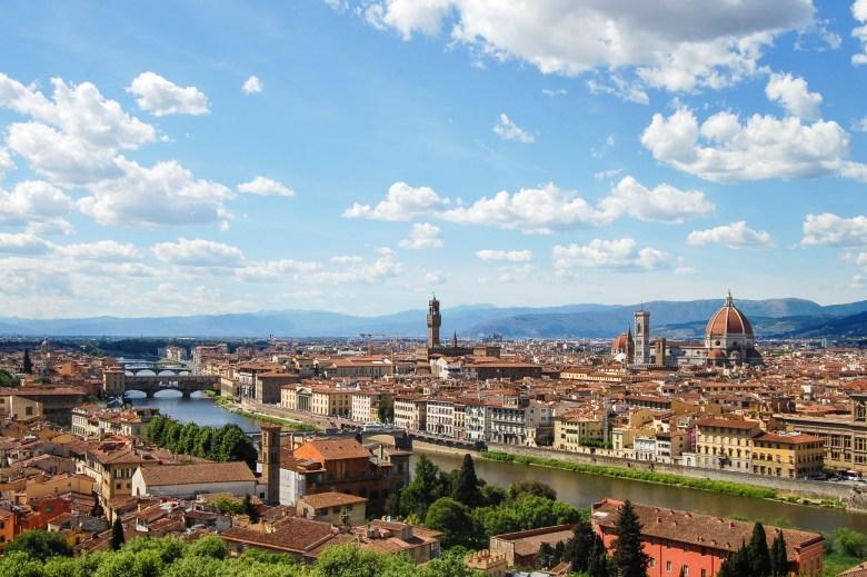 piazzale michelangelo - florença - italia - toscana