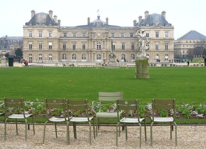 jardim de luxemburgo, paris, frança