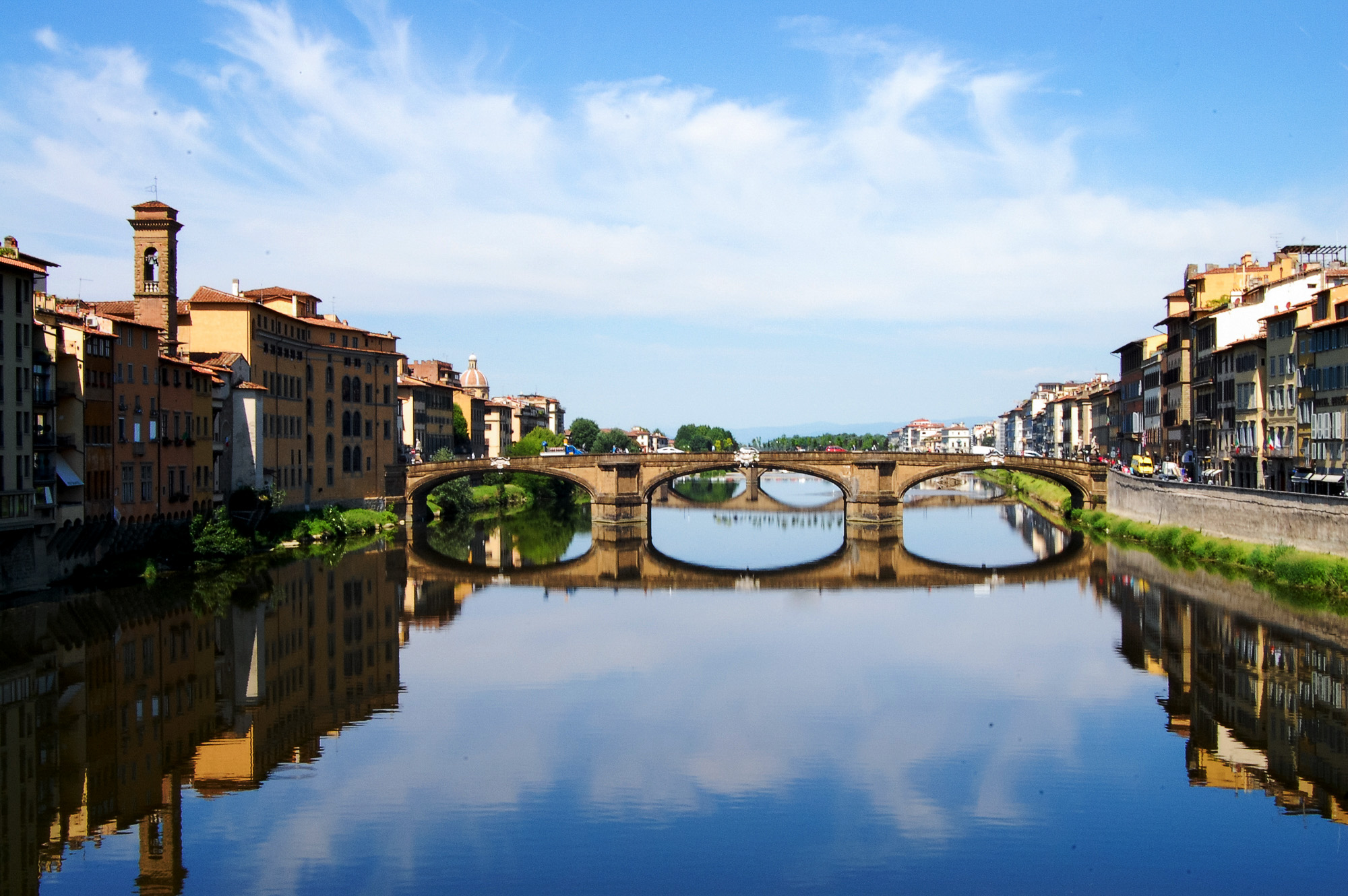 florença - italia - toscana - rio arno