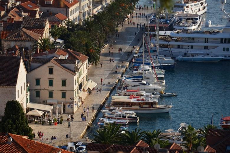 porto de hvar - ilha de hvar - croácia