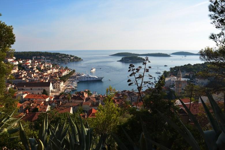 fortica - fortaleza - hvar - croácia - pontos turísticos