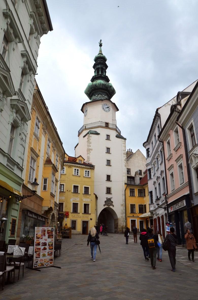 centro histórico - Bratislava - Eslováquia - pontos turísticos