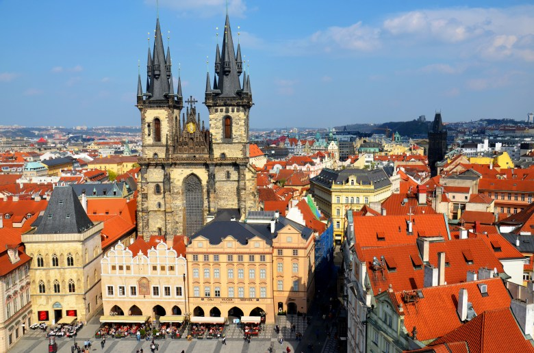 cidade histórica - praga - república tcheca - pontos turísticos - roteiro pelo leste europeu