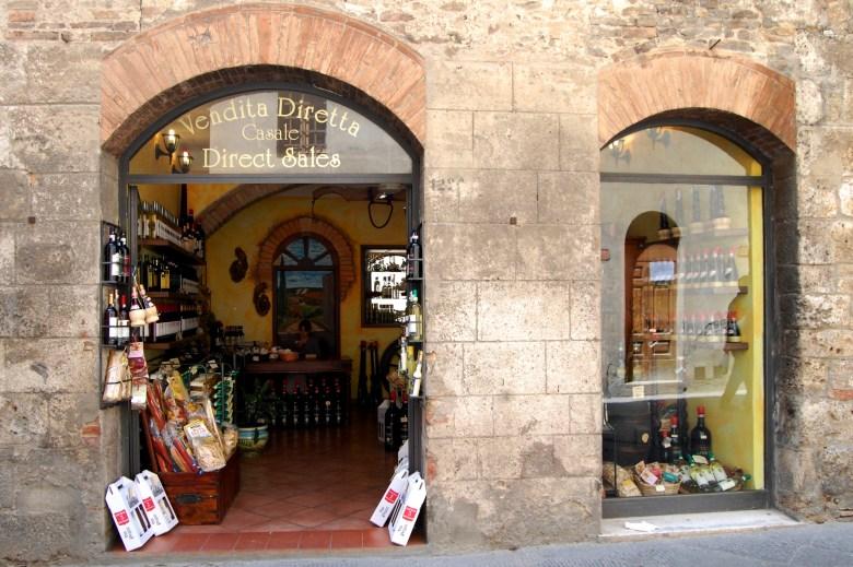 lojas-san gimignano-toscana-italia-pontos-turisticos