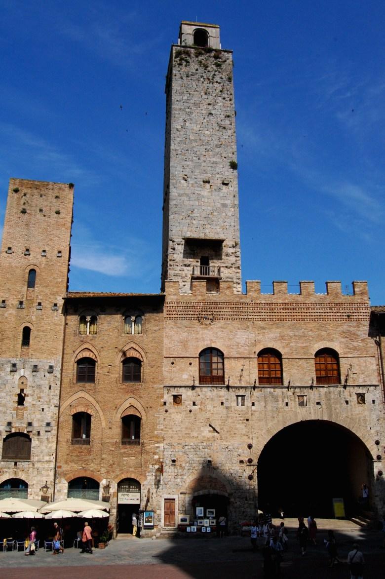 torre-grossa-piazza del duomo - san gimignano - toscana - italia