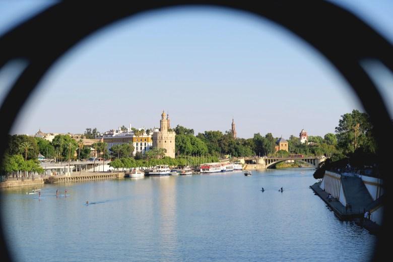 rio guadalquivir - sevilha - andaluzia