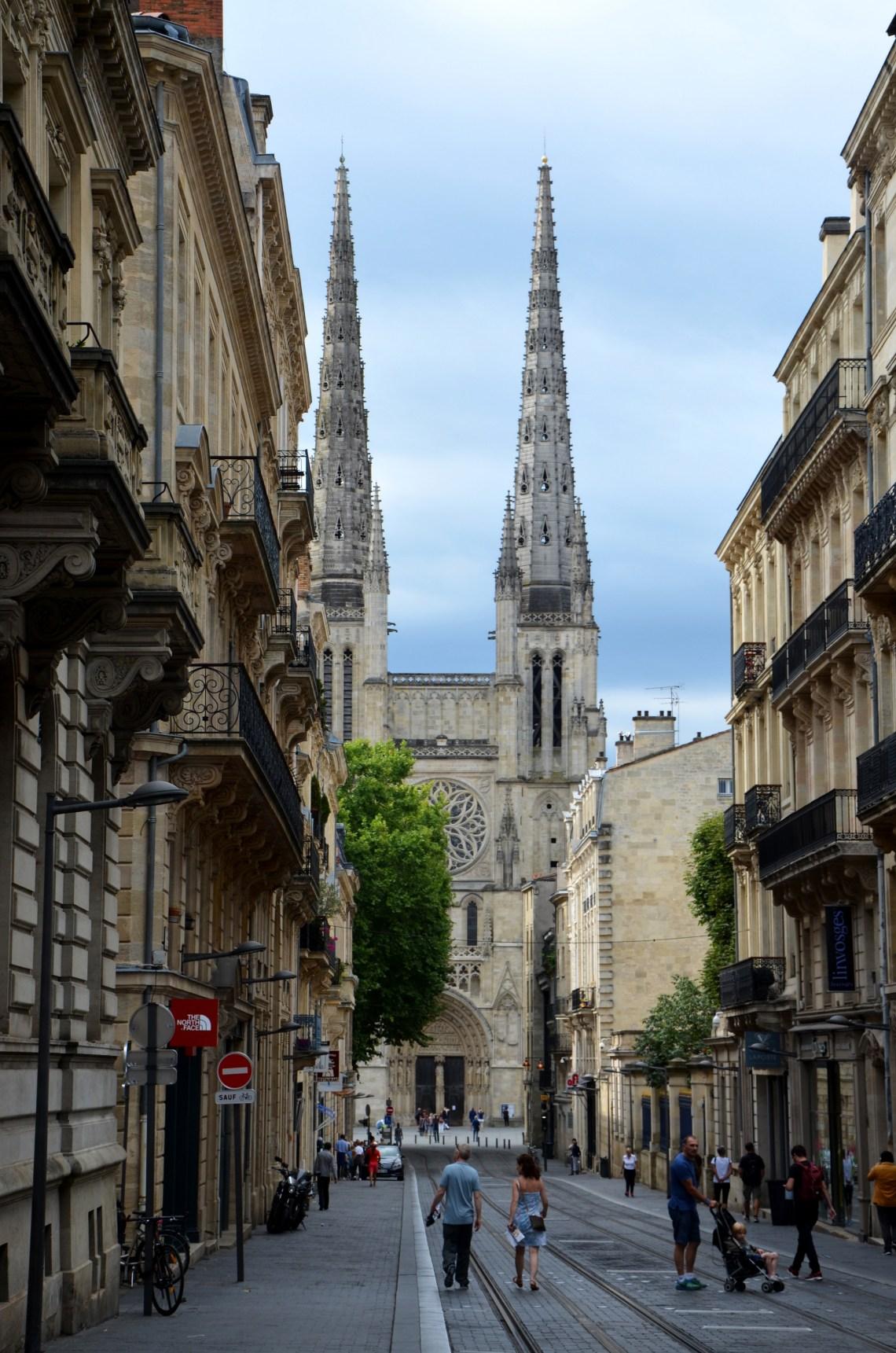 catedral de bordeaux - bordéus - bordeaux - frança - pontos turísticos