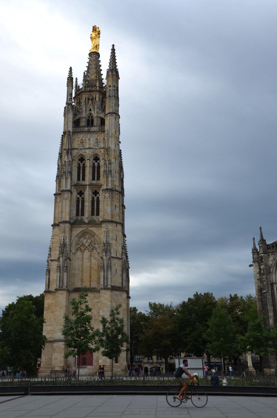torre sineira pey berland - bordéus - bordeaux - frança - pontos turísticos