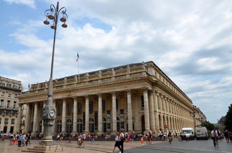 grande teatro de bordeaux - bordéus - bordeaux - frança - pontos turísticos
