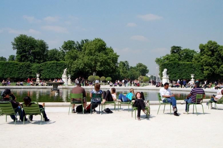 jardins das tulherias - paris na primavera - pontos turísticos - frança