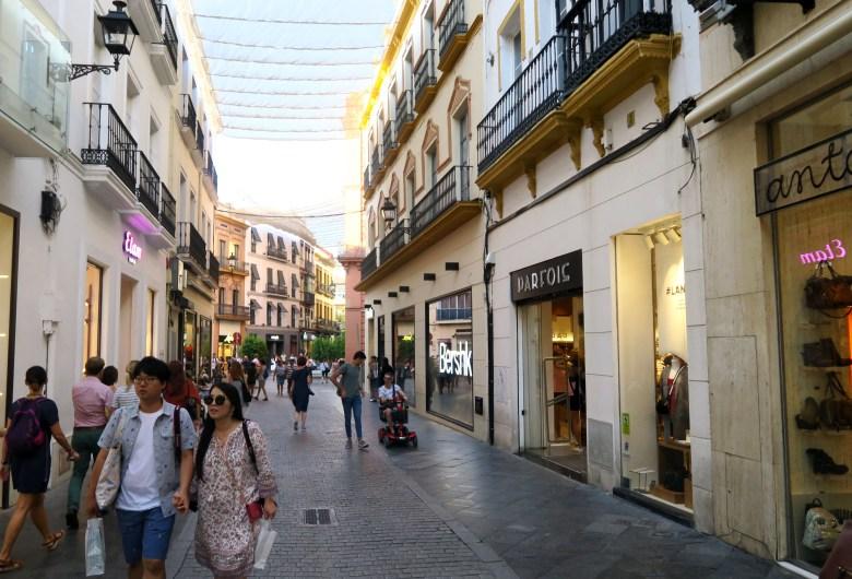 compras - sevilha - o que fazer - andaluzia