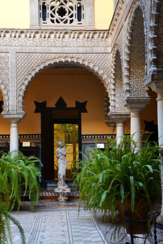 palácio da condessa de lebrija - sevilha - pontos turísticos