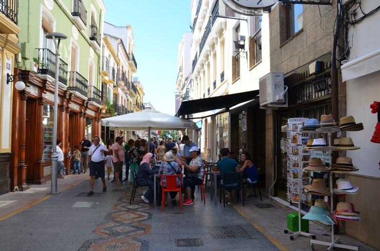 rua do comércio de ronda - espanha - andaluzia