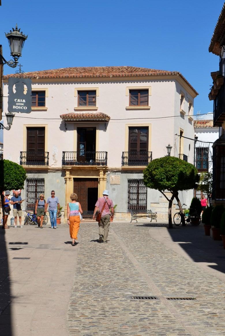 centro histórico de ronda la ciudad - o que fazer em ronda - andaluzia - espanha