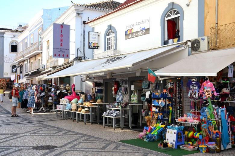 centro histórico - albufeira - portugal - turismo