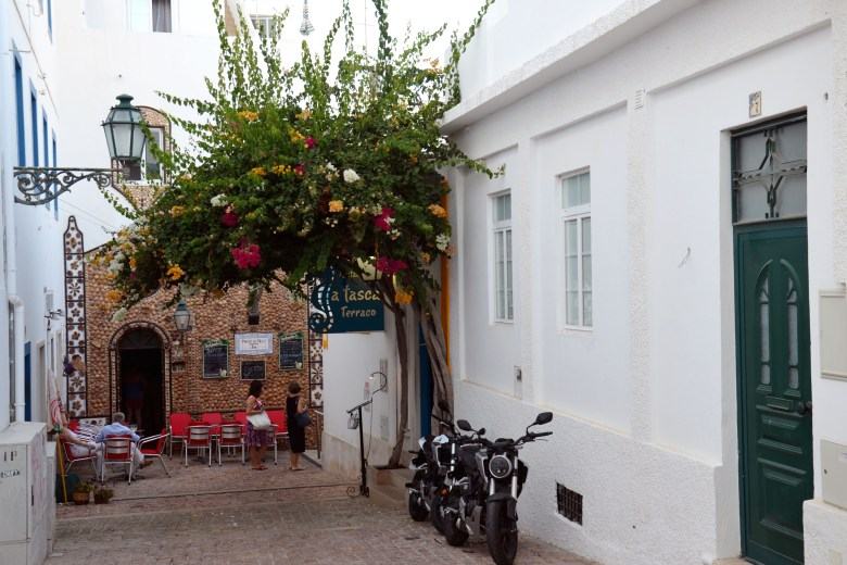 centro histórico - albufeira - algarve - portugal