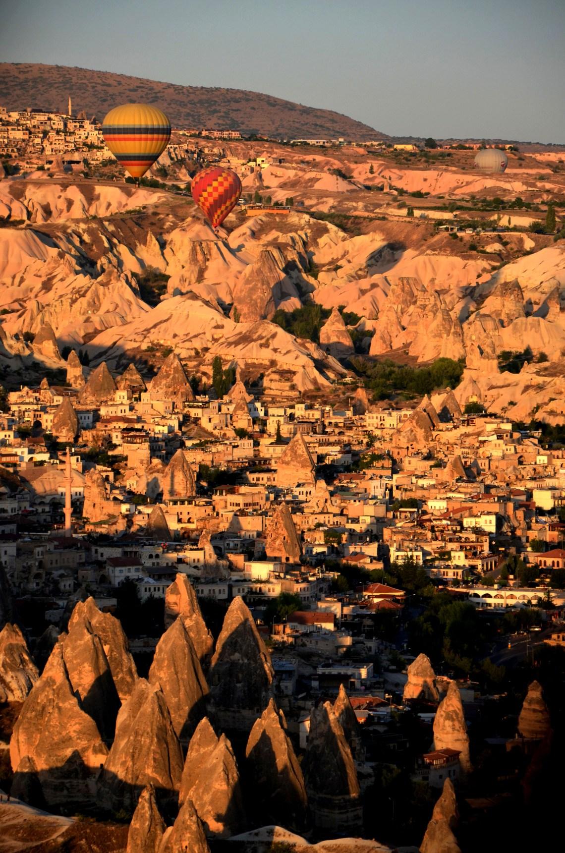 passeio de balão - capadocia - roteiro na turquia