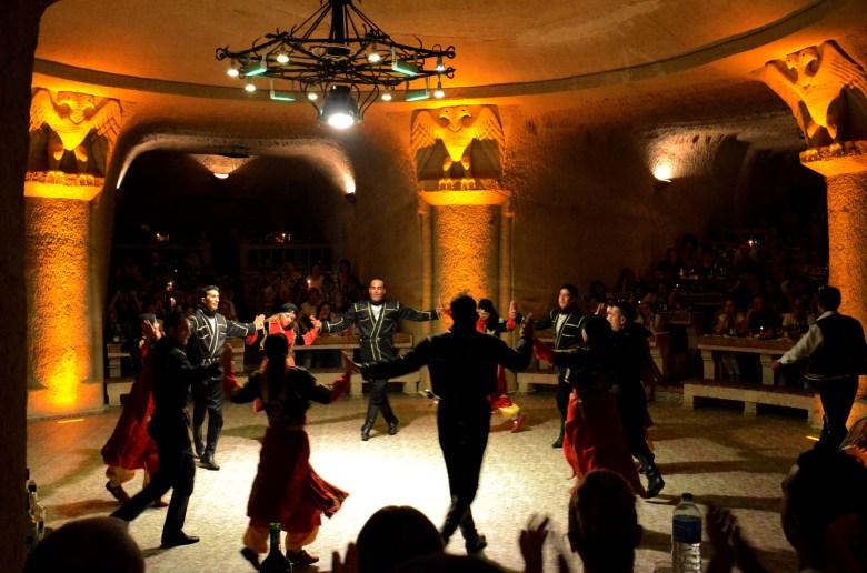 noite turca - capadocia - roteiro na turquia