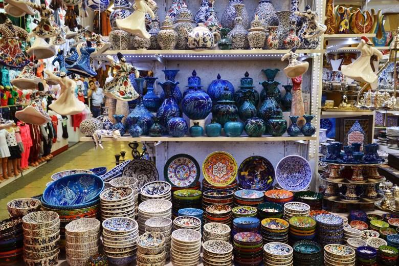 gran bazar - istambul - roteiro na turquia