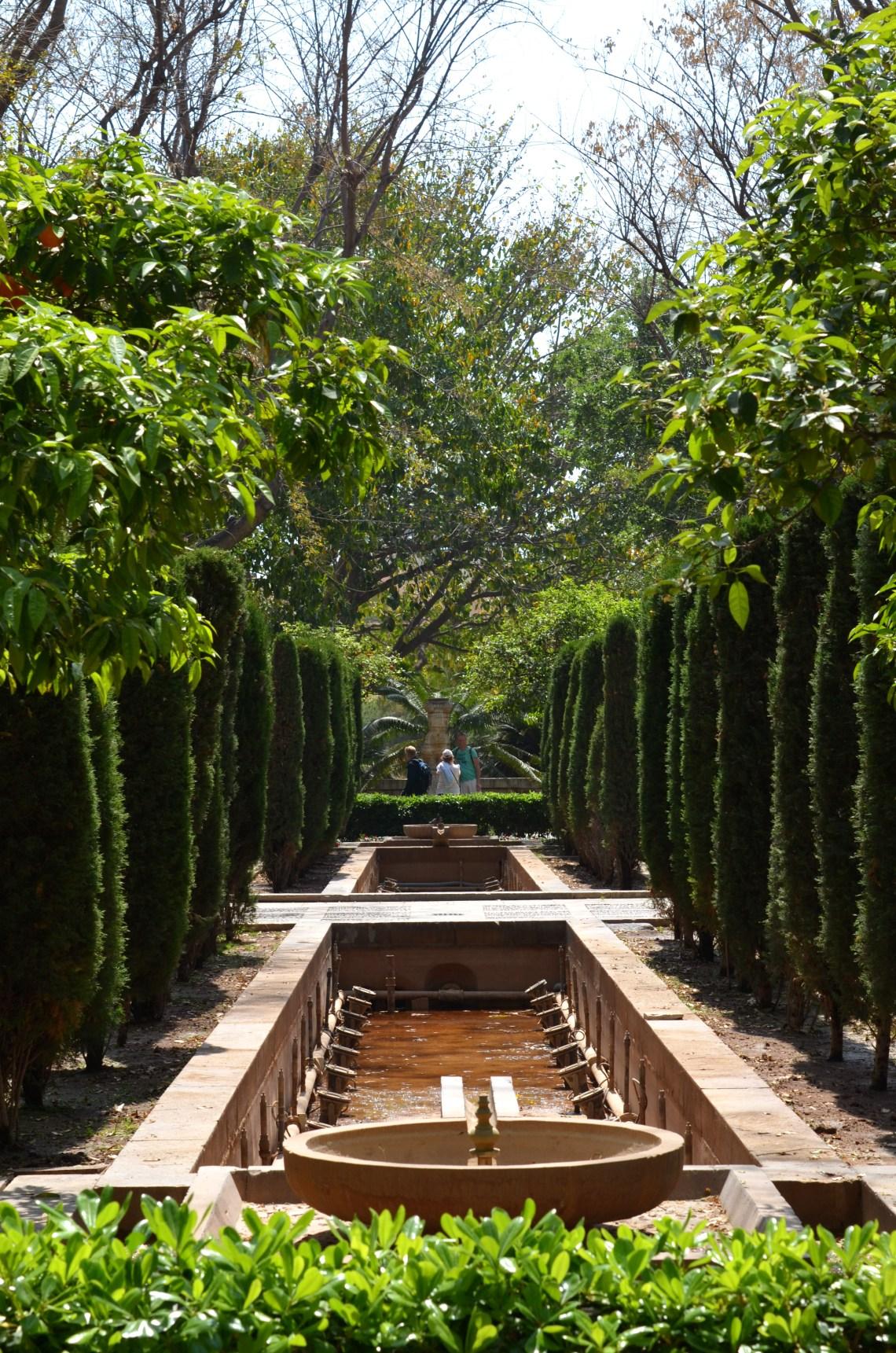 jardins hort del rei - palma de maiorca - turismo