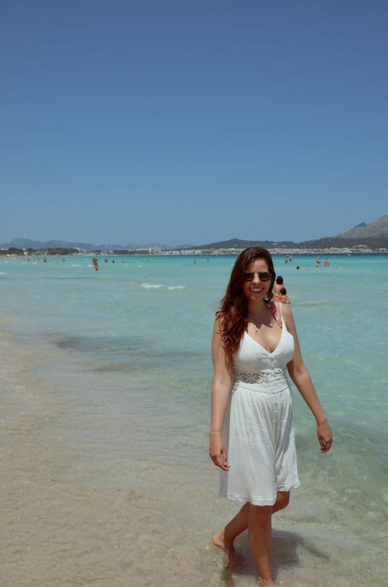 playa del muro,, espanha, ilhas baleares
