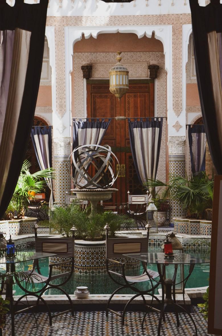 hotel estilo riad - fez - marrocos