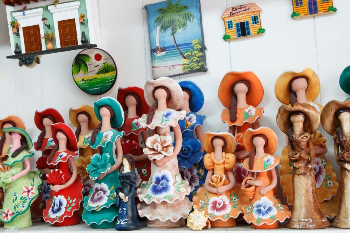 I souvenir tipici di Santo Domingo all'Artigiano in Fiera di Milano