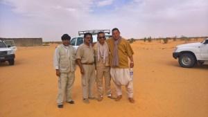 safari nel deserto per sostenere la sicurezza a djerba