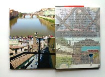 Two views from the corridor and journaling on vellum