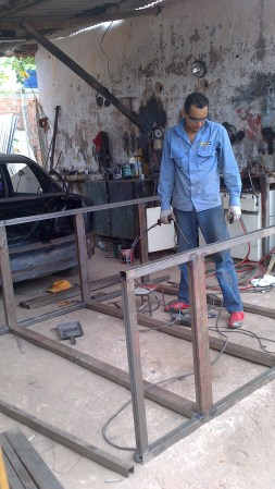 Welding at Recovery House (5)