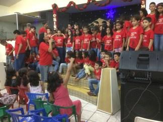 The children's performance