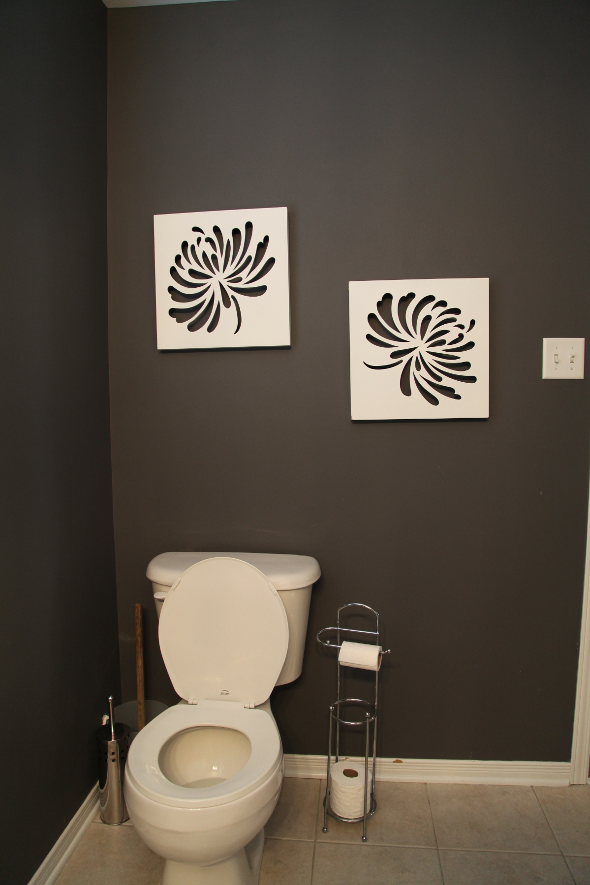 Toilet Before Bathroom Staging