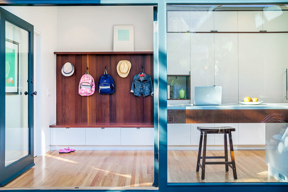 Midcentury Mudroom