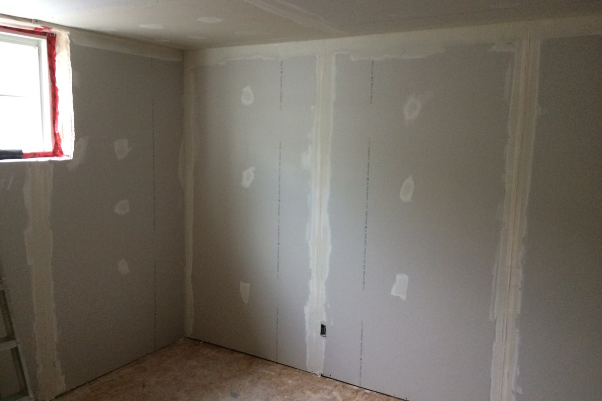 Basement Drywall