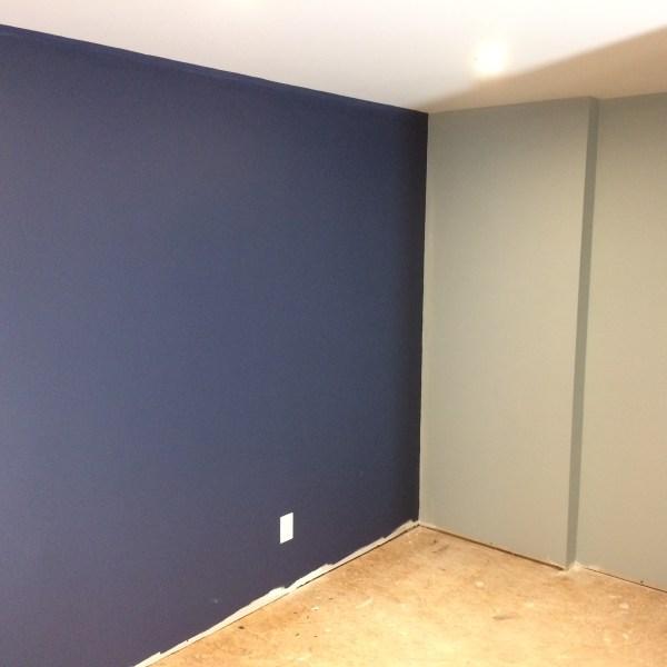 Basement Bedroom Redesign