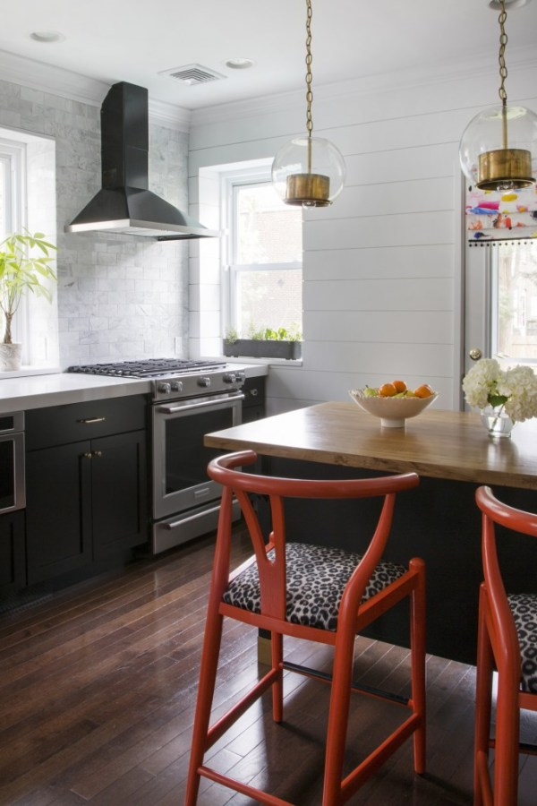 Kitchen with Shiplap