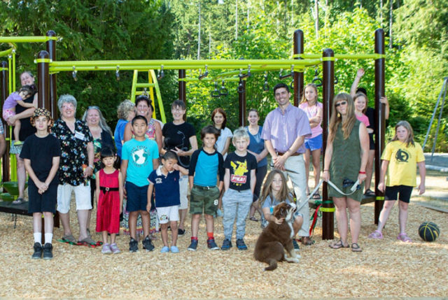 Fanny Bay welcomes a new Playground!
