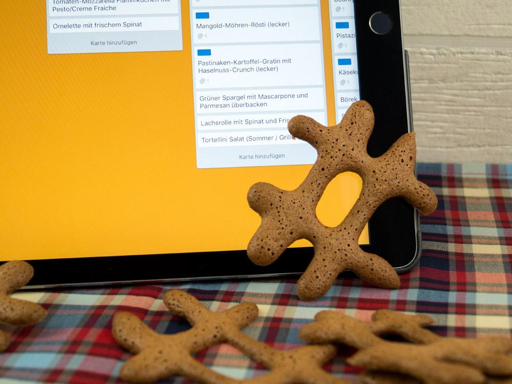 Hashtag-Kekse (Russisch Brot) und ein Gastbeitrag