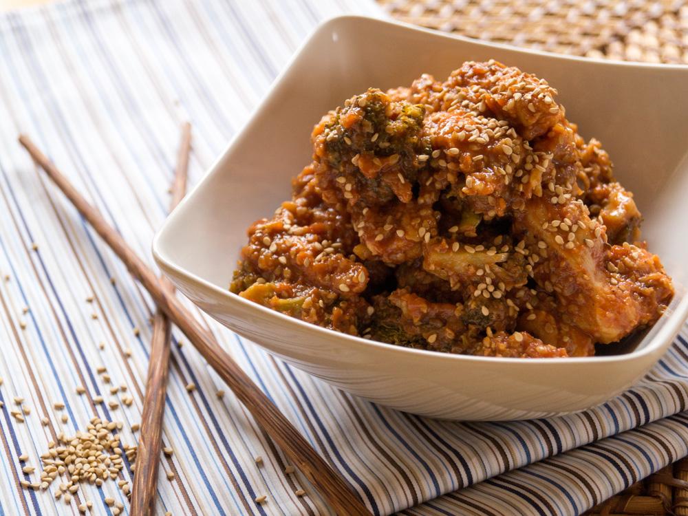 Honig-Sesam-Hühnchen aus dem Knusperstübchen
