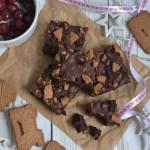 Punsch-Lebkuchen-Brownies